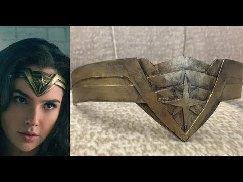 Wonder Woman 2017 Tiara DIY Free Template