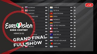 OUR EUROVISION SONG CONTEST 02 - GRAND FINAL - FULL SHOW LIVE (Voting Simulation)