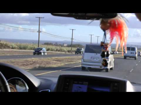 ride from Kihei to Kaanapali, Maui on Highways 31, 310 and 30 westbound 1080p