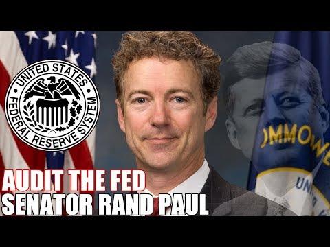 Senator Rand Paul Audit the Fed Bill 2018