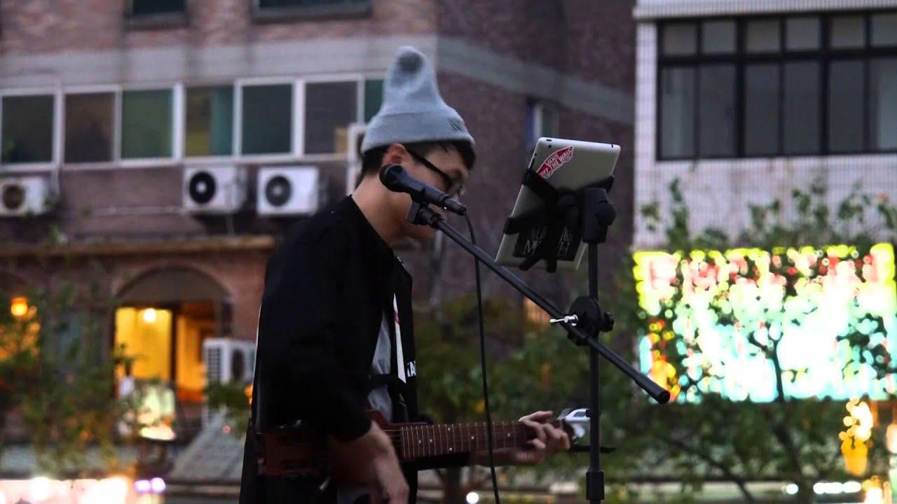 20141108 練懿樂 - 因為愛(韋禮安) 吉他彈唱 - YouTube