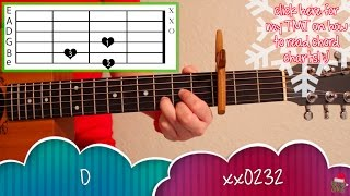 """Last Christmas"" - Taylor Swift EASY Guitar Tutorial/Chords"