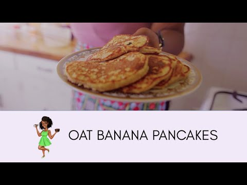 Oat Banana Pancakes (I Made My Own Oat Flour!) | Maureen Kunga | Have Your Cake And Eat It!