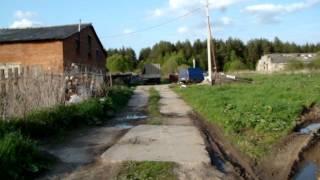 Молодой фермер перегородил дорогу к деревне Шилово Кинешемского района