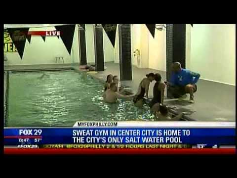 SWEAT Fitness Salt Water Pool Benefits On Good Day Philadelphia   YouTube