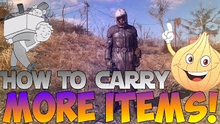Fallout 4: How To Carry More Items | 6 Ways To Improve Your Inventory Space!