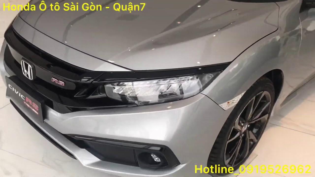 Chi tiết Honda Civic RS Turbo | Honda Ôtô Sài Gòn – Quận 7
