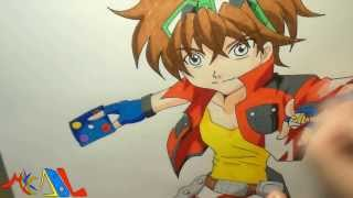 Snappy Drawing 49 Dan Kuso (Bakugan)