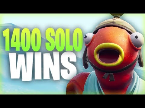 Fortnite - 1400+ Solo Wins. :)