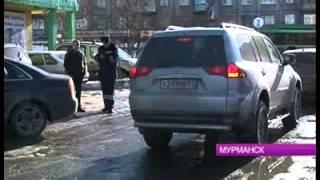 В Мурманске продолжается борьба с автомобильными  пробками