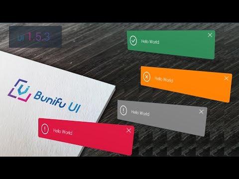 Free Beautiful Animated Winform Notifications/Alerts/Pop-ups - C#,vb.Net - Bunifu UI 1.5.3