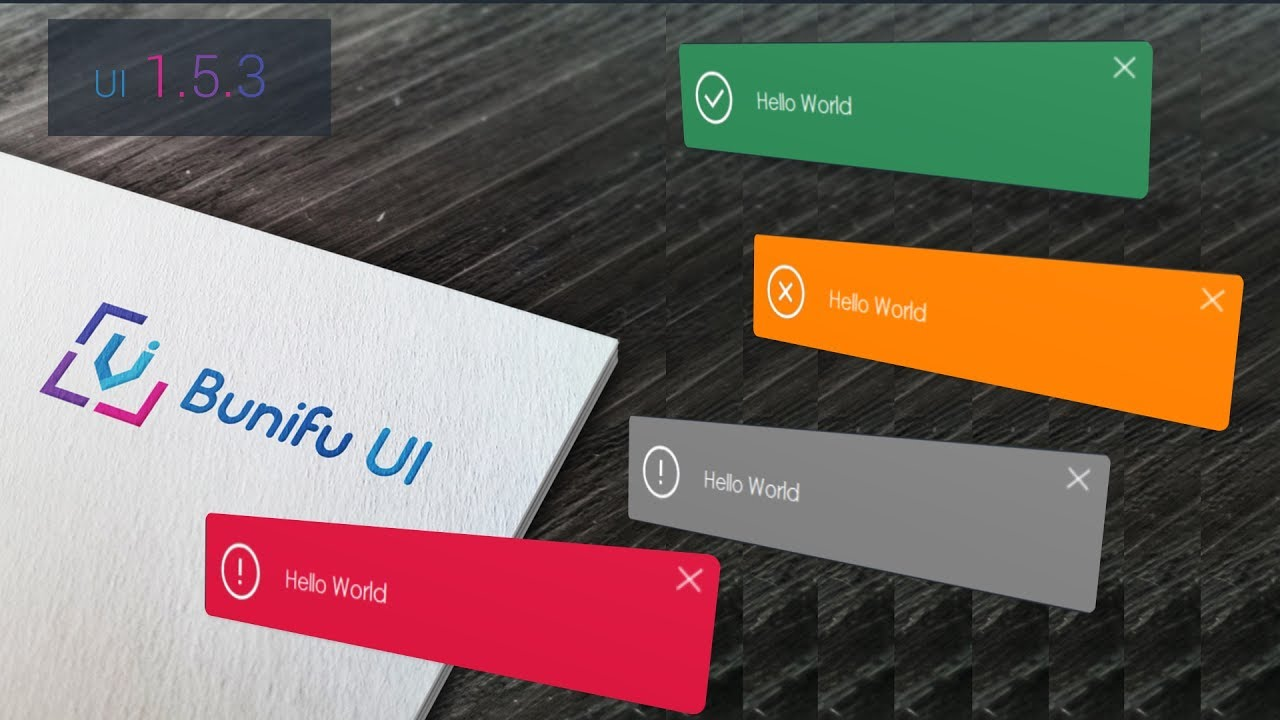Free Beautiful Animated Winform Notifications/Alerts/Pop-ups - C#,vb Net -  Bunifu UI 1 5 3