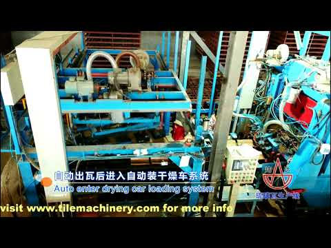 35000pcsday automatic clay roofing tile plant