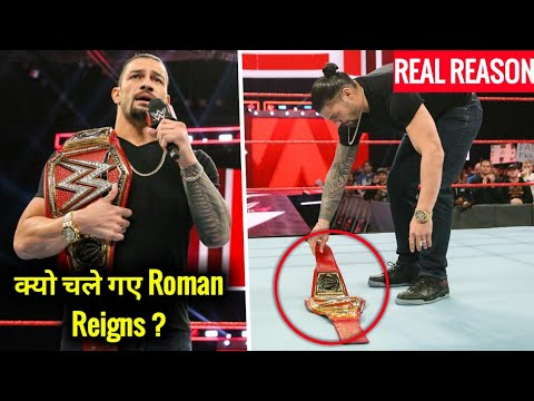 Real Reason Why Roman Reigns LEFT WWE ? Roman Reigns Suffering from Blood Cancer Raw 22 October 2018