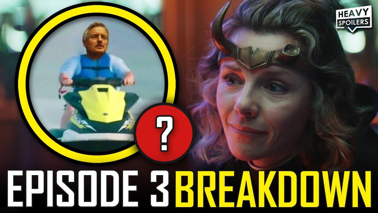 Download LOKI Episode 3 Breakdown & Ending Explained Spoiler Review | Marvel Easter Eggs & Things You Missed