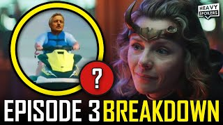 LOKI Episode 3 Breakdown & Ending Explained Spoiler Review | Marvel Easter Eggs & Things You Missed