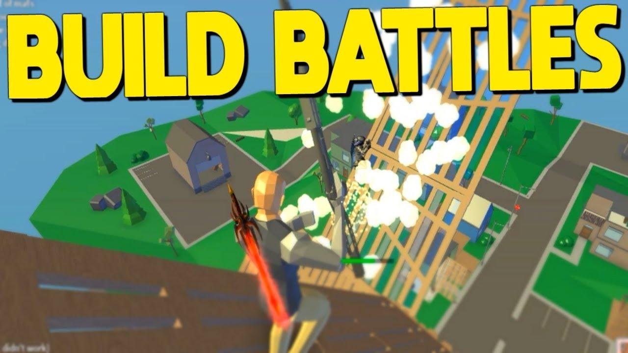 Sweaty BUILD BATTLES In Strucid... (Roblox Fortnite) - YouTube