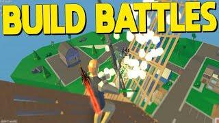Sweaty BUILD BATTLES In Strucid... (Roblox Fortnite)