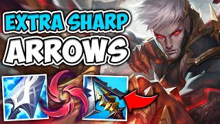 WTF?! THIS VARUS BUILD 100% DOES TOO MUCH DAMAGE! (SUPER SNIPER) - League of Legends
