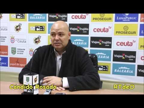 Ceuta-Cabecense declaraciones de Cándido Rosado