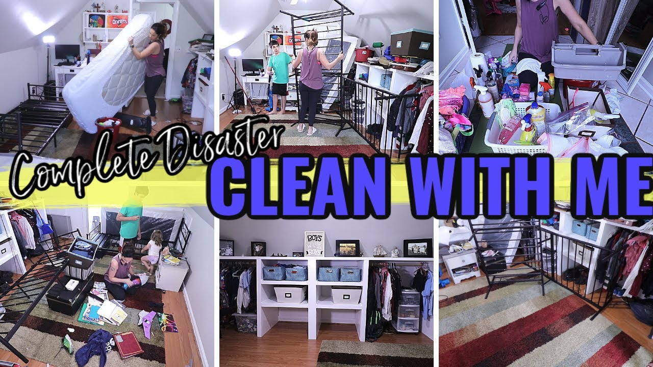 COMPLETE DISASTER TRANSFORMATION || MOVING FURNITURE AND DEEP CLEANING | INSANE CLEANING MOTIVATION