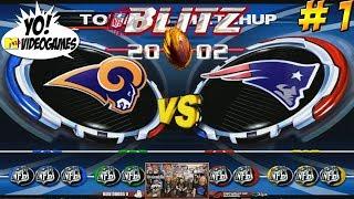 YoVideogames Blitzbowl 2019! Blitz 2002 Part 1 - YoVideogames