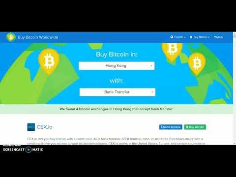 Buying Bitcoin In Hong Kong