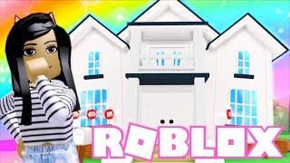 💙Décormons ma maison de 2 histoires à Roblox Meepcity