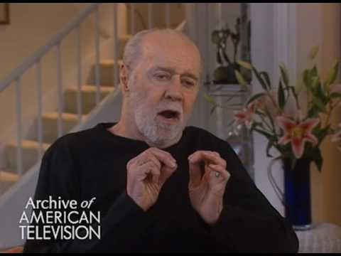 """George Carlin on his first apperance on """"Tonight"""" wtih Jack Paar"""