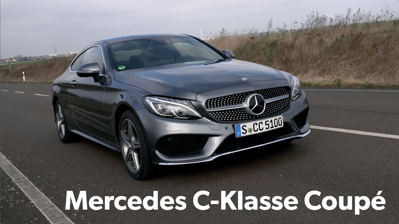 Mobilede Testdrive Mercedes Benz C400 Coupé Youtube