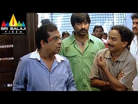 Neninthe Movie Comedy Scenes Back to Back | Ravi Teja, Brahmanandam | Sri Balaji Video