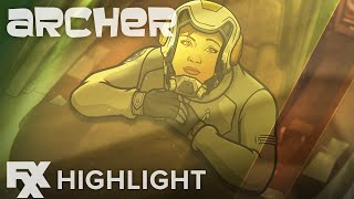 Archer | Season 10 Ep. 4: Swallowed by a Space Snail Highlight | FXX