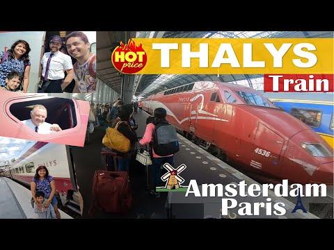 Amsterdam to Paris by Thalys Train