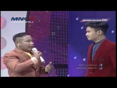 Widhi KDI Suka Sama Siti Badriah - Konser Seleksi KDI 2015 (3/4)