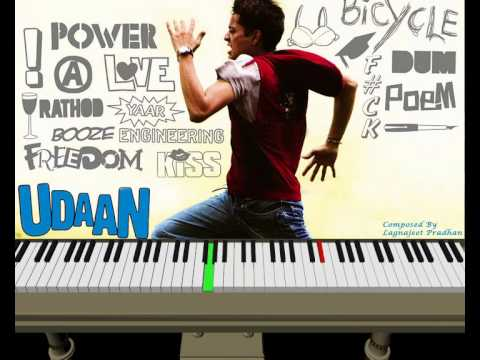 Udaan 2010 movie Theme music on Piano - YouTube