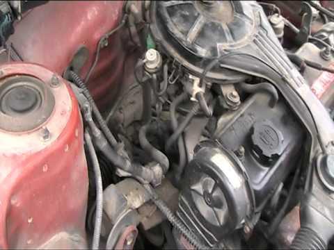 Toyota 2E engine start & run  YouTube