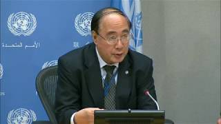 Wu Hongbo (DESA) on launch of Sustainable Development Goals (SDGs) Report 2017 - Press Conference thumbnail