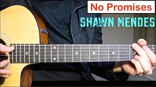 No Promises - Shawn Mendes | Guitar Lesson (Tutorial) How to play Chords