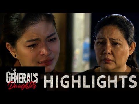 Isabelle lends a crying shoulder to Rhian | The General's Daughter