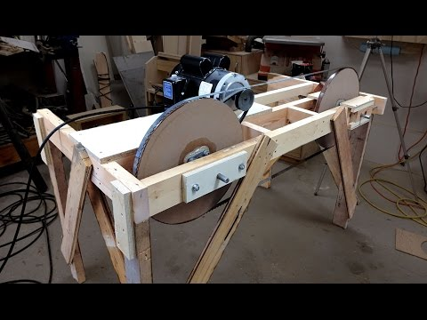 Making A Quick And Dirty Band Saw Mill - Part 4