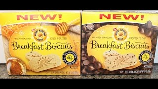 Honey Bunches Of Oats Breakfast Biscuits: Honey Roasted & Chocolate Chip Review