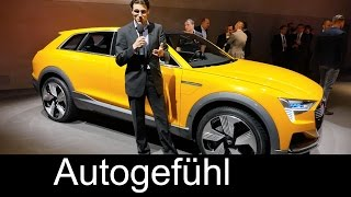 Audi h-tron Quattro Concept static REVIEW fuel cell SUV