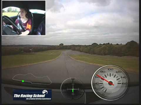 Amy Jones - Audi R8 - The Racing School - Donington Park