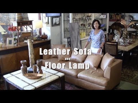 hickory chair leather couch patio chairs and table sofa youtube