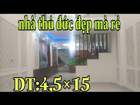 BÁN NHÀ THỦ ĐỨC | Phạm Văn Đồng, p. Hiệp Bình Chánh. DT: 4,5 ×15.