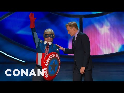 Captain Make America Great Again Returns  - CONAN on TBS