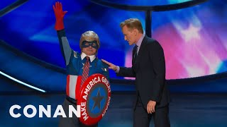 Captain Make America Great Again Returns  - CONAN on TBS thumbnail