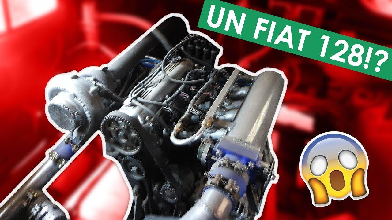 Fiat 128 Super Europa Motor De Bora 2 0   Fiat 600 Motor
