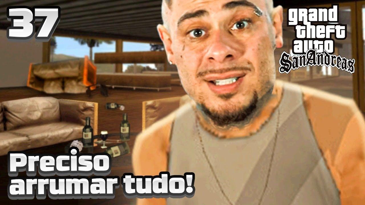 GTA SA #37 - TA NA HORA DA FAXINA MONSTRO! -  LEO STRONDA