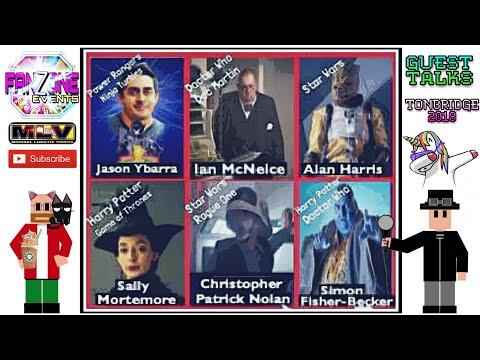TONBRIDGE Comic-Con The Guest Talks 2018